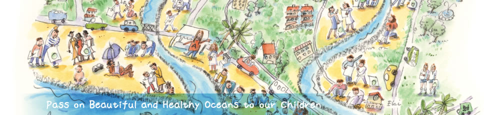 Pass on Beautiful and Healthy Oceans to our children